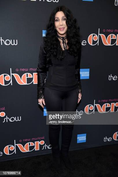 Cher arrives at The Cher Show Broadway Opening Night at Neil Simon Theatre on December 03 2018 in New York City