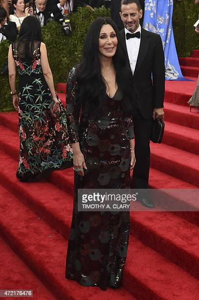 Cher arrives at the Costume Institute Gala Benefit at The Metropolitan Museum of Art May 5 2015 in New York AFP PHOTO / TIMOTHY A CLARY
