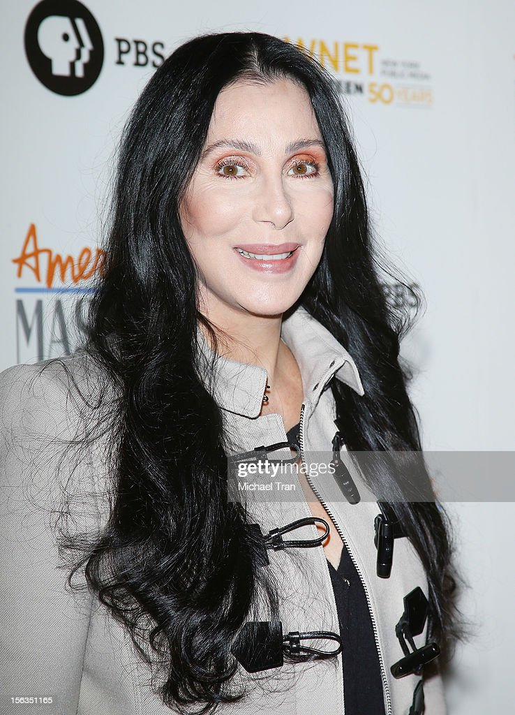 Cher arrives at the Los Angeles premiere of 'Inventing David Geffen' held at Writer's Guild Theater on November 13, 2012 in Los Angeles, California.
