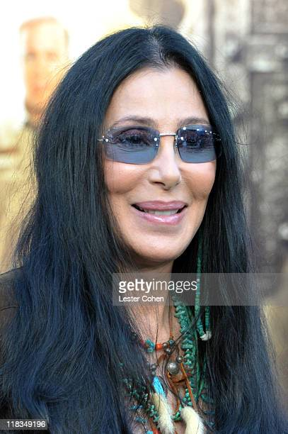 Cher arrives at the Los Angeles premiere of 'Zookeeper' at Regency Village Theatre on July 6 2011 in Westwood California