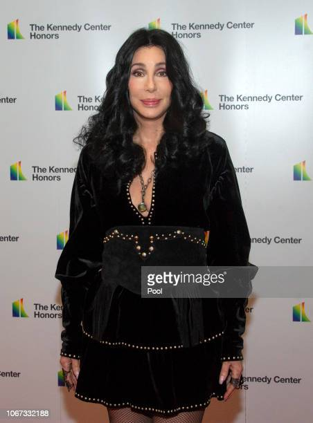Cher arrives for the formal Artist's Dinner honoring the recipients of the 41st Annual Kennedy Center Honors hosted by United States Deputy Secretary...