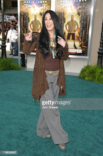 Cher arrives to the 'Zookeeper' Los Angeles Premiere at Regency Village Theatre on July 6 2011 in Westwood California