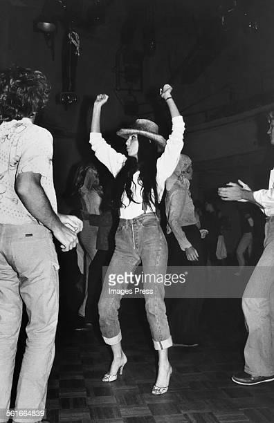 Cher at Studio 54 circa 1977 in New York City