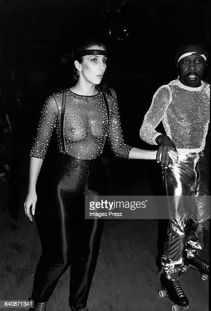 Cher at the Empire Roller Disco circa 1979 in New York City