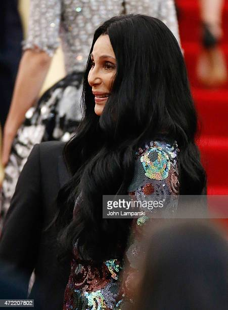 Cher attends China Through The Looking Glass Costume Institute Benefit Gala at Metropolitan Museum of Art on May 4 2015 in New York City