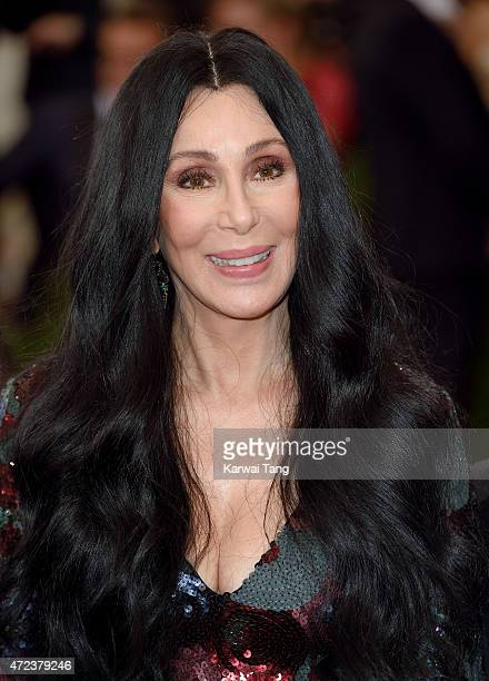 Cher attends the China Through The Looking Glass Costume Institute Benefit Gala at Metropolitan Museum of Art on May 4 2015 in New York City