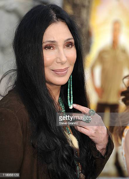 Cher attends the 'Zookeeper' Los Angeles Premiere at Regency Village Theatre on July 6 2011 in Westwood California