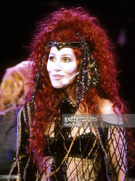 Cher during Cher 'Do You Believe' Tour Mountainview California August 17 1999 at Shoreline Amphitheater in Mountainview California United States