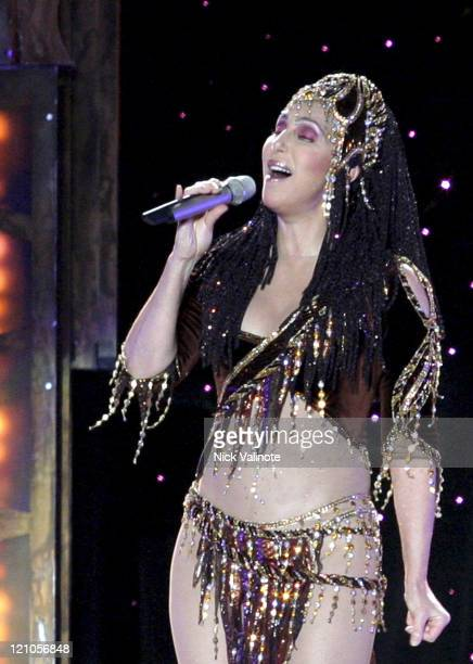Cher during Cher Opens Final Tour in Atlantic City's Boardwalk Hall - November 27, 2004 at Boardwalk Hall in Atlantic City, New Jersey, United States.