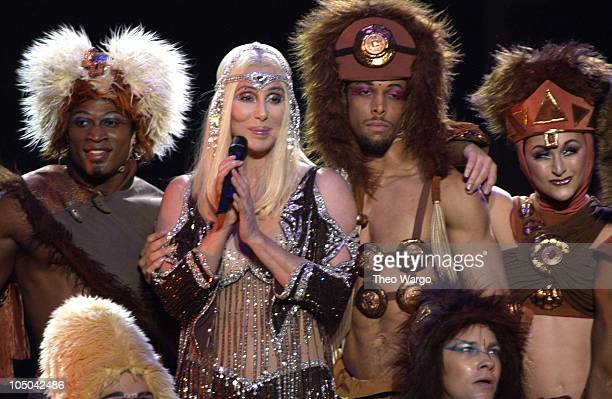 "Cher during Cher Performs at Madison Square Garden on her ""Living Proof"" Farewell Tour at Madison Square Garden in New York City, New York, United..."