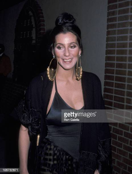 Cher during Cher Sighting at Pip's Restaurant in Beverly Hills February 23 1976 at Pip's Restaurant in Beverly Hills California United States