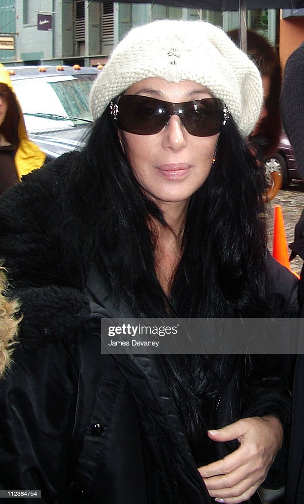 Cher during Cher Sighting in New York City - April 8, 2006 at Streets Of Manhattan in New York City, New York, United States.