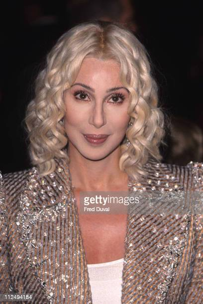 Cher during Harry Potter and The Sorcerer's Stone London Premiere November 4 2001 at Leicester Square in London United Kingdom
