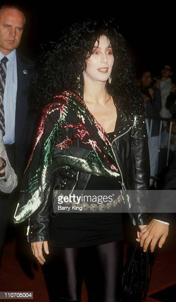 Cher during 'Scrooged' Premiere in Los Angeles California United States