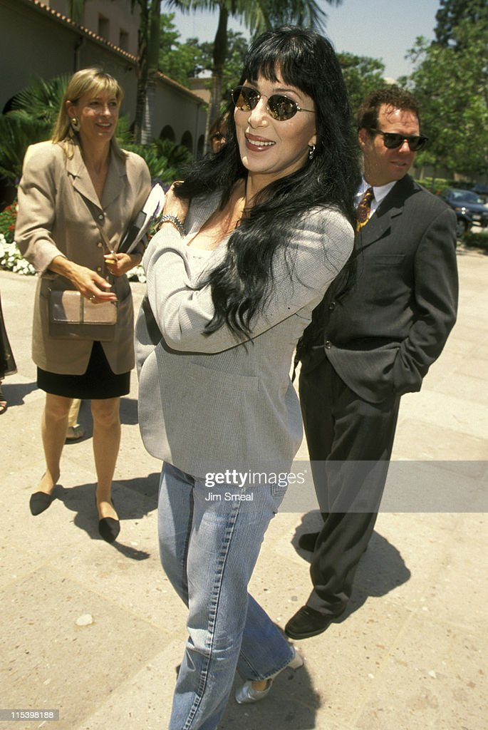 Cher during Summer TV Critics Press Tour at Ritz Carlton Hotel in Pasadena, California, United States.