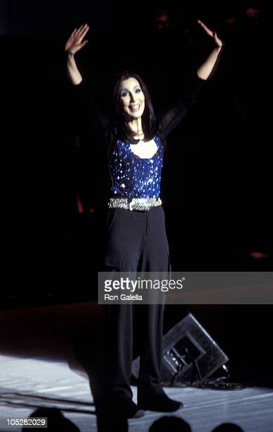 """Cher during WKTU's """"Miracle On 34th Street"""" Concert at Hammerstein Ballroom in New York City, New York, United States."""