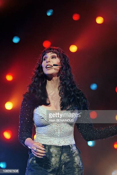 Cher in Cannes France on January 24 1999