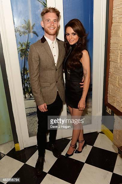 Cher Lloyd and Craig Monk attend Cher's 21th birthday celebrations at Mahiki July 18 2014 in London England
