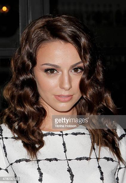 Cher Lloyd attends BCBGeneration party like a GenGirl Summer Solstice party at Gracias Madre on June 23 2015 in West Hollywood California
