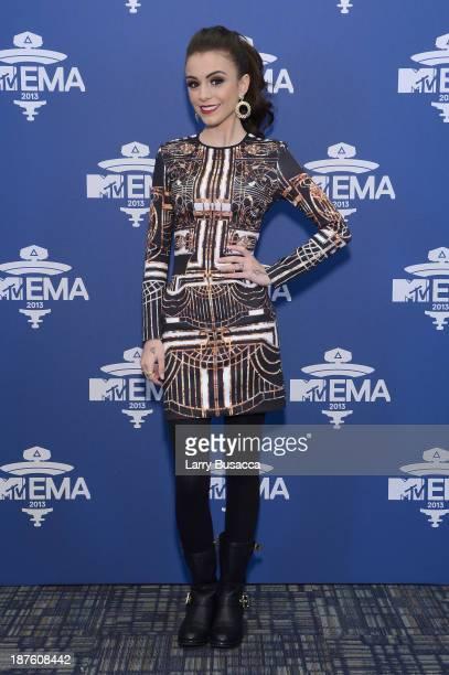 Cher Lloyd attends the MTV 2013 UEMA US Telecast Meet Greet at Intrepid on November 10 2013 in New York City
