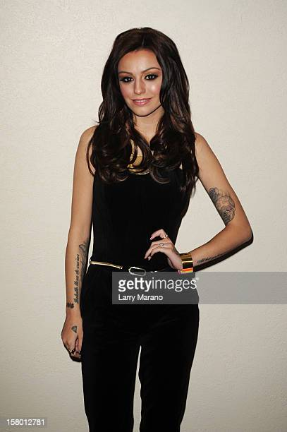 Cher Lloyd attends the Y100's Jingle Ball 2012 at the BBT Center on December 8 2012 in Miami