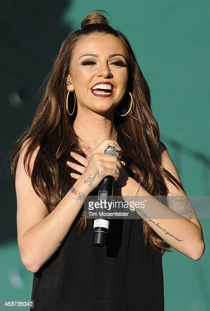 Cher Lloyd performs during Now 997's Summer Splash at Great America on August 16 2014 in Santa Clara California