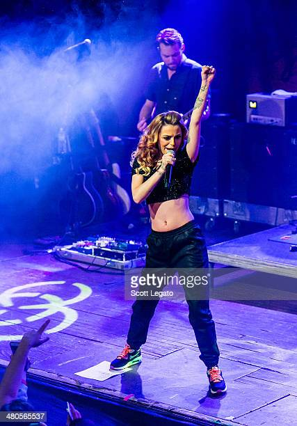 Cher Lloyd performs in concert in preparation for her new album 'Sorry Im Late' at St Andrews Hall on March 25 2014 in Detroit Michigan