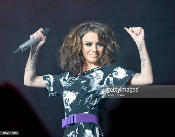 Cher Lloyd performs on stage during BRMB Live at LG Arena on November 26, 2011 in Birmingham, United Kingdom.