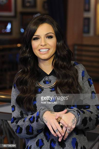Cher Lloyd visits Extra at Universal Studios Hollywood on October 24 2013 in Universal City California