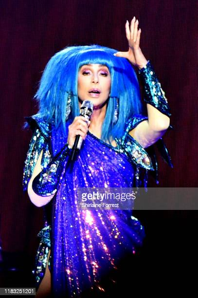 Cher performs at Manchester Arena on October 24 2019 in Manchester United Kingdom