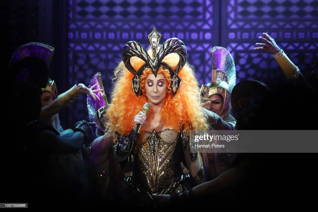Cher Here We Go Again Tour - Auckland : News Photo