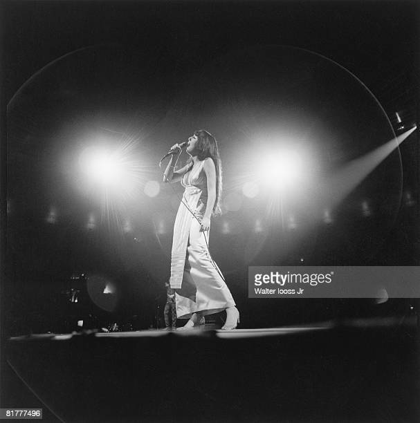 Cher performs in the Soul Together Concert at Madison Square Garden circa 1960's in New York City New York