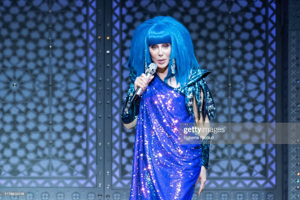 Cher Performs At The SSE Hydro, Glasgow : News Photo