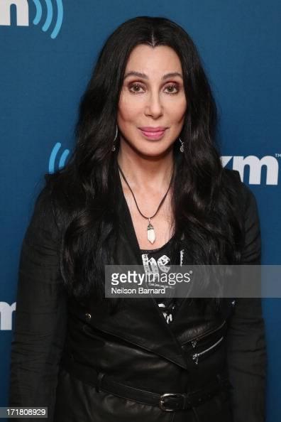 "Cher poses at SiriusXM's ""Town Hall"" series at SiriusXM ..."