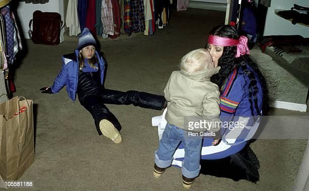 Cher son Elijah Blue Allman and daughter Chastity Bono