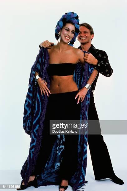 Cher with Fashion Designer Bob Mackie