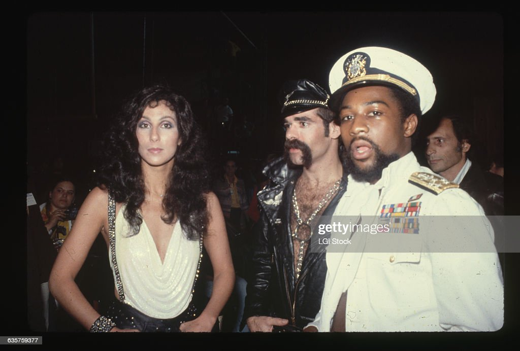 Cher With The Village People : News Photo