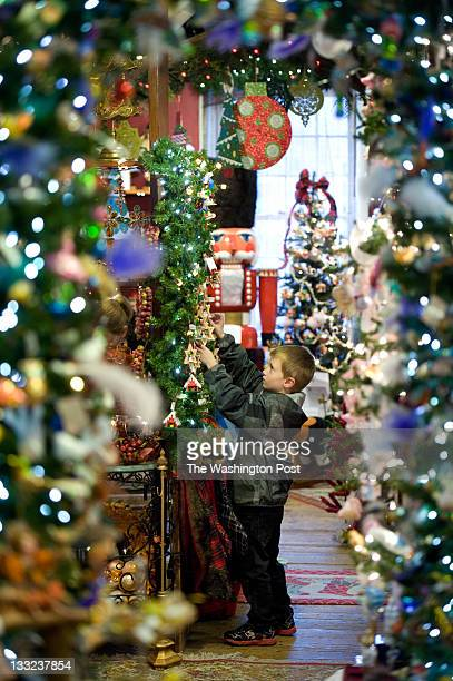 cheri hennessy owner of the christmas attic and her year round christmas store is seen on - Christmas Attic