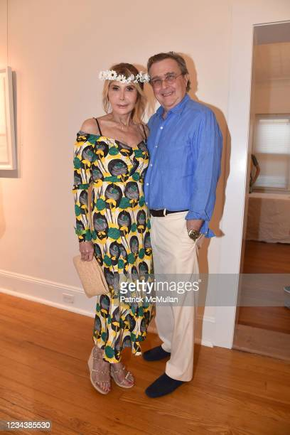 """Cheri Kaufman and Bill Sclight attend the release of Christophe von Hohenberg's new book """"The White Album of The Hamptons"""" and Bruce Helander's..."""