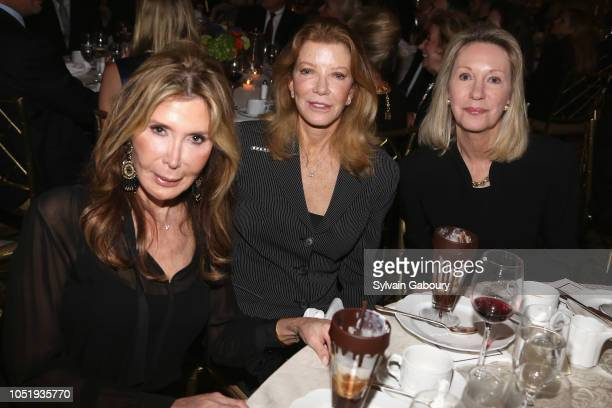 Cheri Kaufman Sandra Whitney and Anne Eisenhower attend 10th Anniversary Gala Celebration at The Pierre Hotel on October 11 2018 in New York City