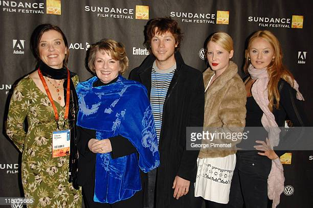 Cheri Nowlan director with Brenda Blethyn Khan Chittenden Emma Booth and Katie Wall