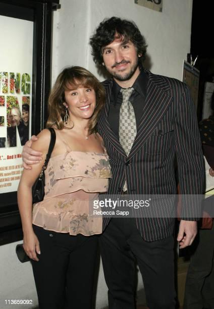 Cheri Oteri and Greg Pritikin director of Surviving Eden
