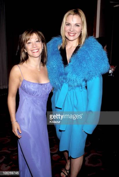 Cheri Oteri and Kim Cattrall during 11th Annual GLAAD Media Awards New York at The Hilton Hotel in New York City New York United States