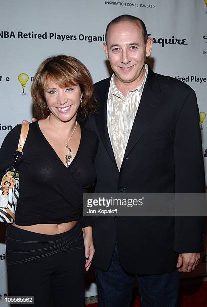 Cheri Oteri and Paul Reubens during Esquire House Hosts Penny Marshall's Birthday Party to Benefit The Life On Purpose Foundation and The West Coast...