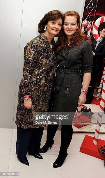 Cherie Blair and daughter Kathryn Blair attend the preparty for the English National Ballet's 'The Nutcracker' at St Martins Lane Hotel on December...