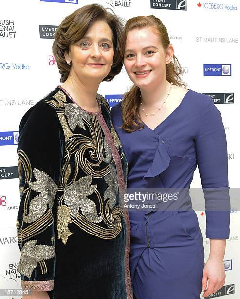 Cherie Blair And Katherine Blair Attends The English National Ballet'S Christmas Performance Of The Nutcracker On December 14 2011 In London