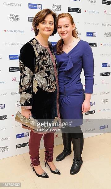 Cherie Blair and Katherine Blair attends the pre party for the English National Ballet's Christmas performance of The Nutcracker on December 14 2011...