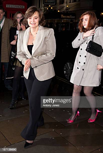 Cherie Blair And Kathryn Blair Attends The Vip Reception To Launch The English National Ballet Christmas Season Ahead Of The Performance Of 'The...