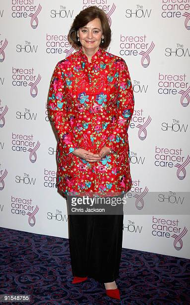 Cherie Blair arrives at the Breast Cancer Care 2009 Fashion Show at Grosvenor House Hotel on October 7 2009 in London England