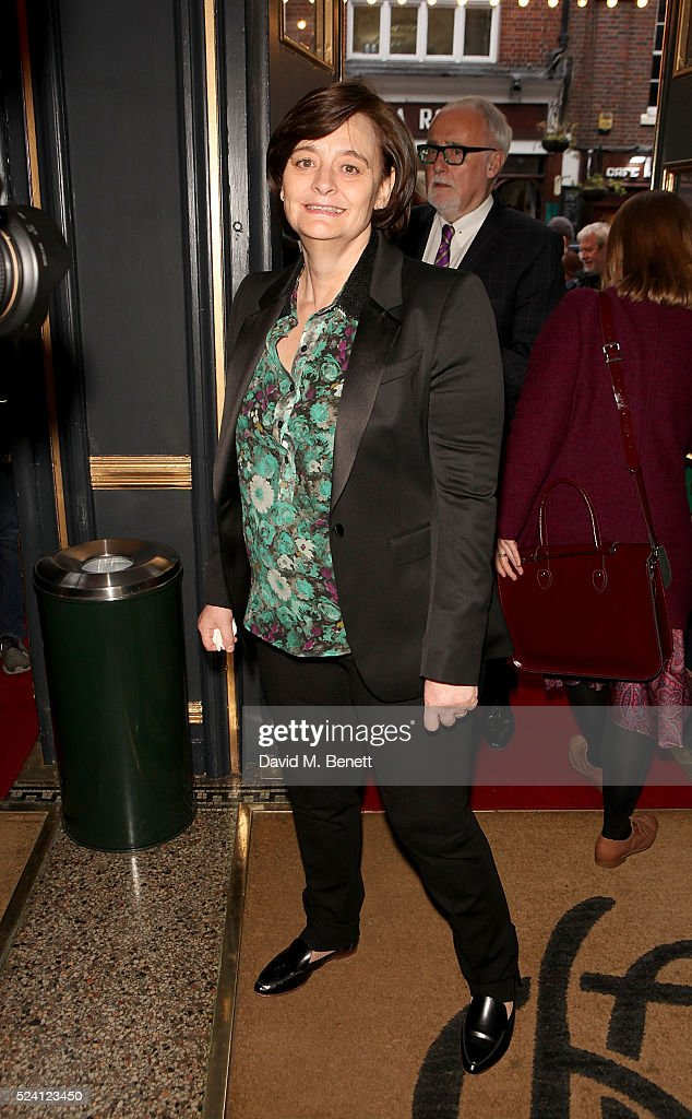 Cherie Blair attends the Gala Night performance of 'Doctor Faustus' at The Duke Of York's Theatre on April 25, 2016 in London, England